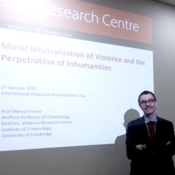 Read more at: Moral Neutralisation of Violence - Holocaust Remembrance Day lecture