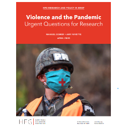 Read more at: Violence in the Pandemic - HFG Research and Policy in Brief